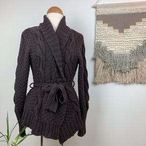 Vintage Wrap Sweater Cardigan
